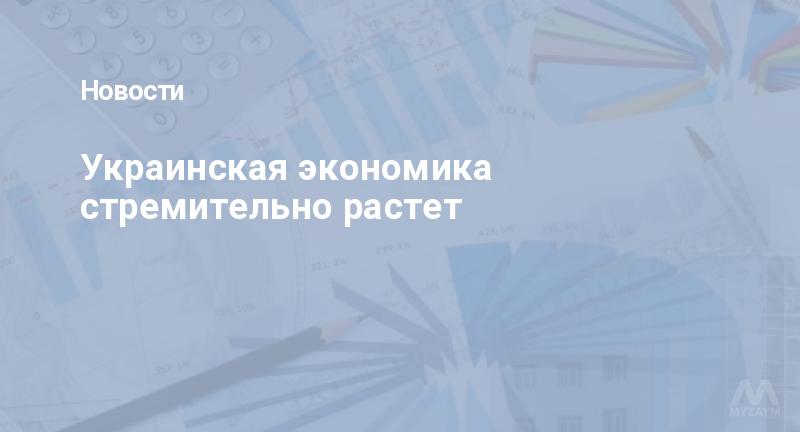 Украинская экономика стремительно растет
