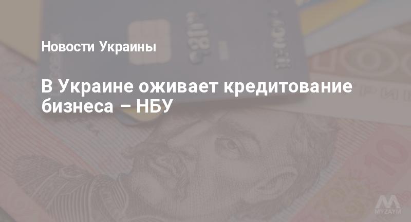 В Украине оживает кредитование бизнеса – НБУ