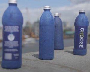 Британець створив пляшку, яка розкладається за 21 день