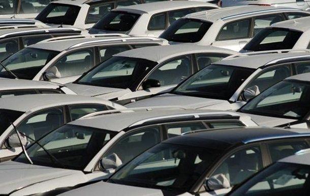 В Україні впали продажі нових легкових авто